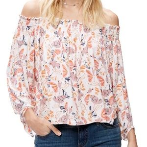 Free people NWT off the shoulder blouse medium